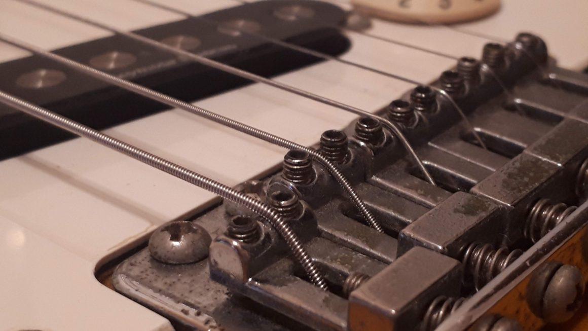 エレキギターのセッティングで重要な2つの事