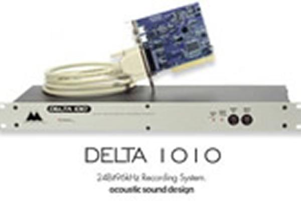 オーディオインターフェイス「M-AUDIO Delta 1010 」