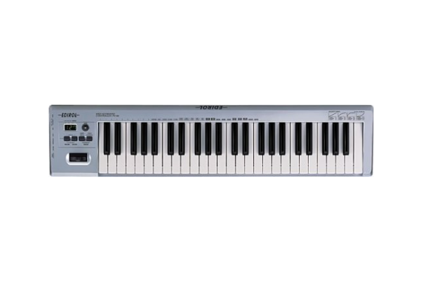ミュージシャンが使うDTM機材 MIDIキーボード EDIROL PC-50