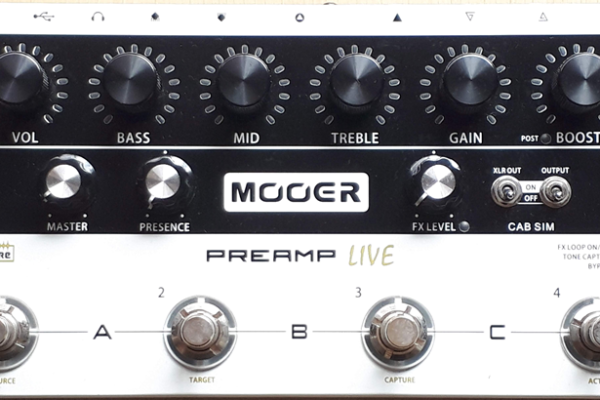Mooer / Preamp Live ムーアー / プリアンプ ライブ|ギタリスト気になる機材の解説