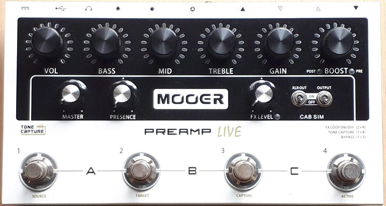 Mooer / Preamp Live ムーアー / プリアンプ ライブ|ギタリスト気になる機材の解説