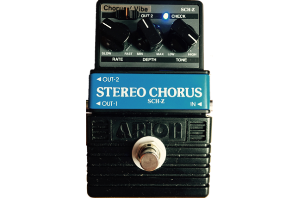 E.W.S. コーラス ARION SCH-Z CHORUS/VIBE MOD コーラスペダル|ギタリストが使っている機材の解説