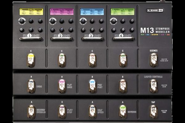 LINE6社製 「M13 STOMPBOX MODELER」ライン6 ストンプボックスモデラー フロアタイプエフェクトシステム