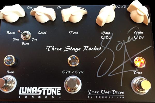 LUNASTONE / THREE STAGE ROCKET ルナストーン / スリーステージロケット オーバードライブ