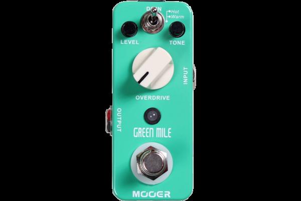 MOOER ムーアー エフェクター 2モードオーバードライブ Green Mile Ibanez TS808  ギタリストが使っている機材の解説 ギターエフェクター歪み系