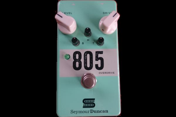Seymour Duncan / 805 Overdrive セイモアダンカン / 805 オーバードライブ  ギタリストが使っている機材の解説 オーバードライブ