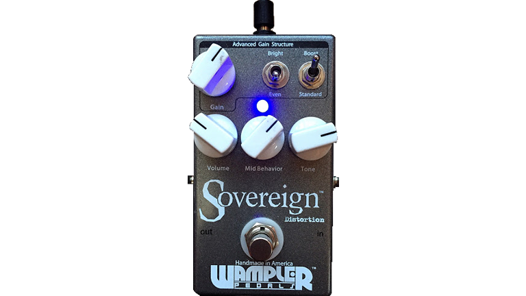WAMPLER PADALS / Sovereign Distortion ワンプラーペダル / ソヴリン・ディストーション  ギタリストが使っている機材の解説 ギターエフェクターディストーション
