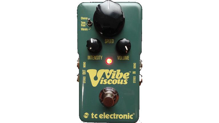 TC ELECTRONIC ViscousVibe/ヴィスカス・ヴァイブ  ティーシーエレクトロニック モジュレーション Uni-Vibeのサウンドを再現したエフェクター