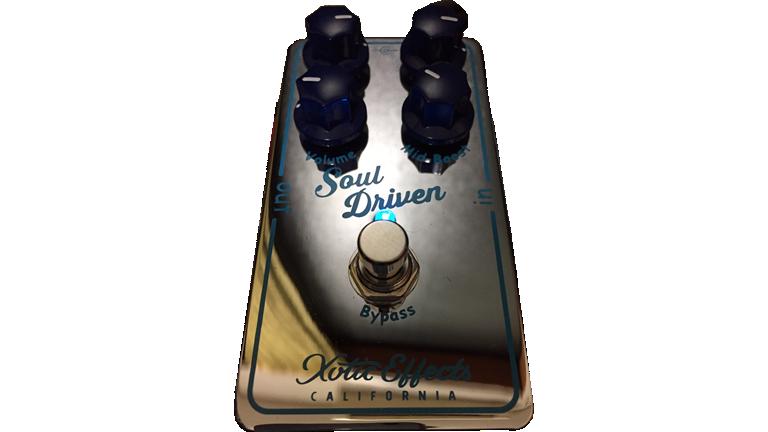 Xotic Pedal / Soul Driven エキゾチック ペダル / ソウル ドリヴン  ギタリストが使っている機材の解説 オーバードライブ