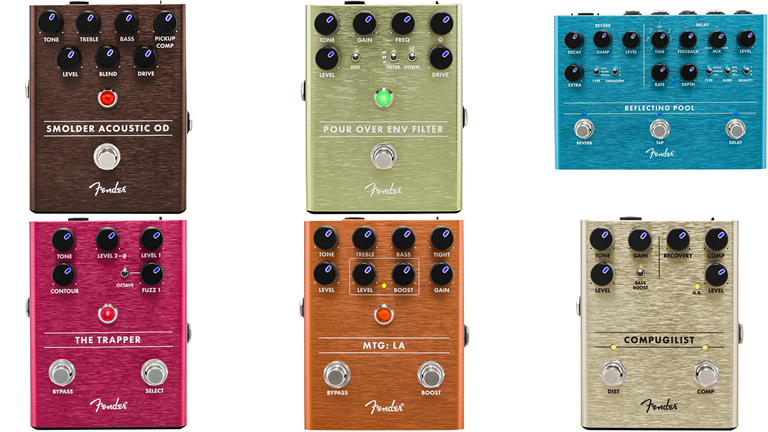 Fender Effects Pedals / コンパクトペダル群|ギタリストが気になる機材の解説