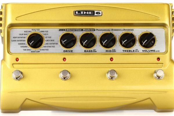 LINE6社製 「DM4 Distortion Modeler」  オーバードライブ&ディストーション・ペダル・エフェクト