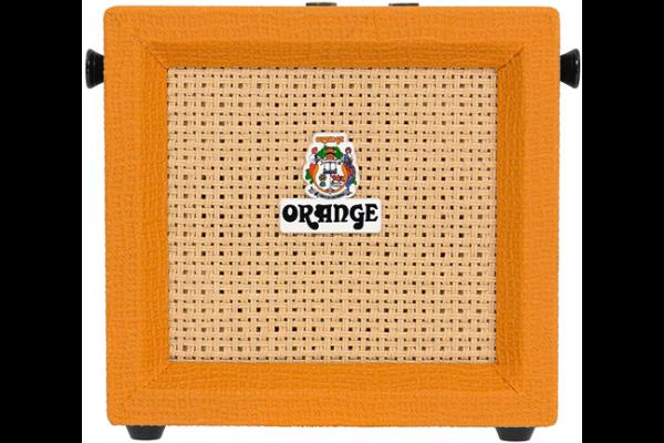 ギターアンプ「ORANGE/Micro Crush」特有のパッキリしたクリーントーン、歪みも作れて、小音量でも箱鳴りする