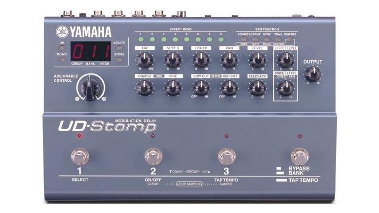 アラン・ホールズワースがプロデュースしたエフェクトボックス「YAMAHA UD-STOMP」