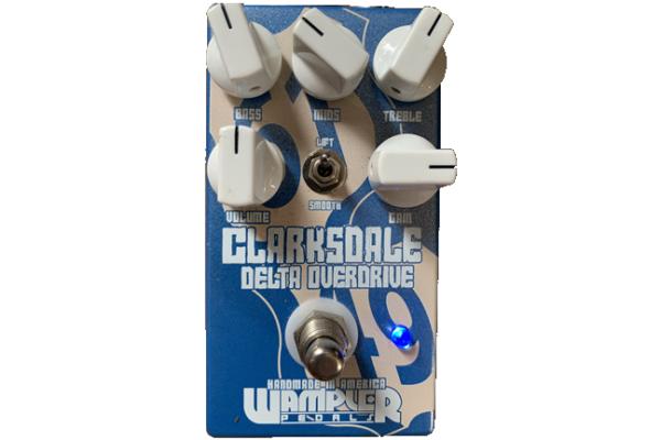 Wampler Pedals  Clarksdale Delta Overdrive / ワンプラーペダルズ クラークスデイル・デルタ・オーバードライブ|ギタリストが使っている機材の解説