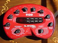 自宅録音の味方 LINE6 POD アンプシミュレーター アンプで音の出せない自宅録音の強い味方