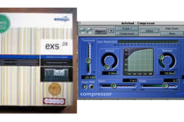 Logicのコンプレッサー 一番使うプラグイン/Compressor