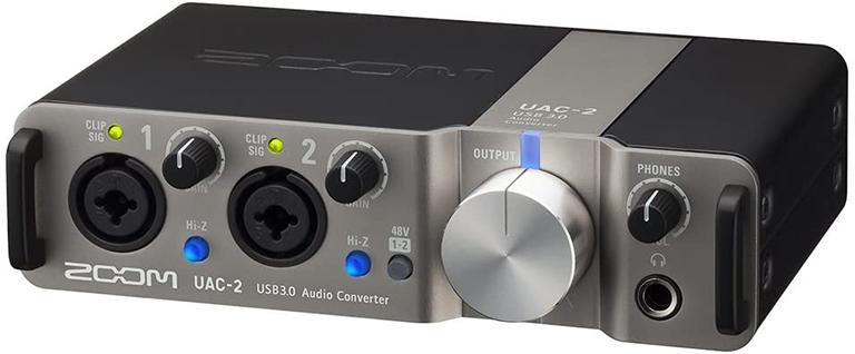 ZOOM UAC-2 / ズーム UAC-2 オーディオインターフェイス